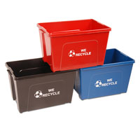 New Recycling Containers Begin
