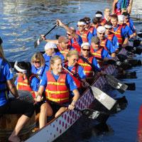 Busch Buccaneers Dragon Boat Team