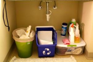 Mercyhurst Recycle Bins