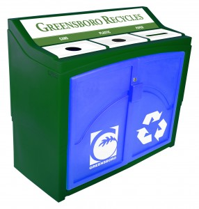 City of Greensboro Recycling Station