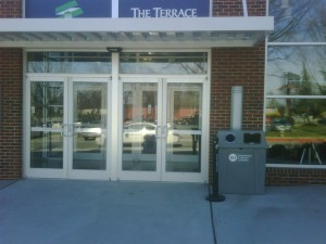Greensboro Arena Recycling Bin