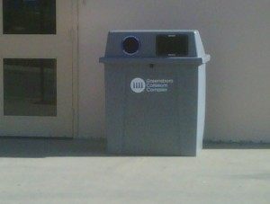 Recycling Station in Greensboro, NC