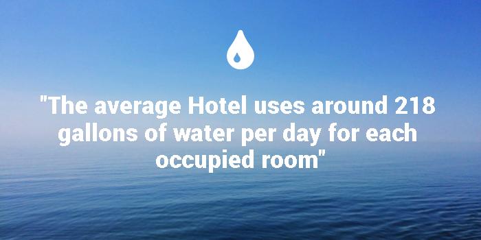 Hotel Water Usage