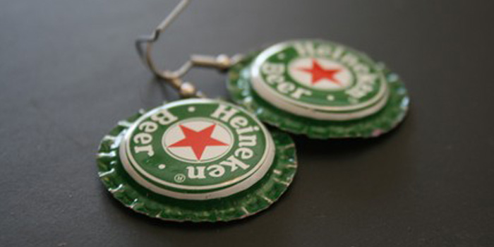 What can you do with your beer caps upcycle them busch for Beer cap jewelry
