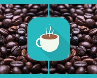 COFFEE CUPS HEADER