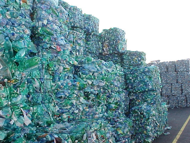 bottled water waste
