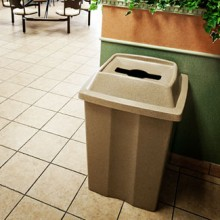 Large Indoor Recycling & Waste Container