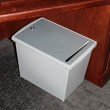 Indoor Secure Office Paper Recycling Bin