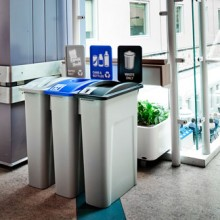 Customizable Indoor Recycling & Waste Stations