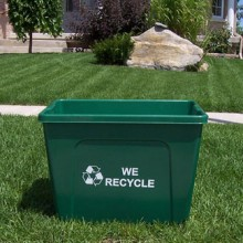 Curbside Recycling Container