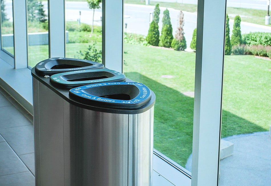 Indoor Recycle & Waste Bins   Busch Systems USA