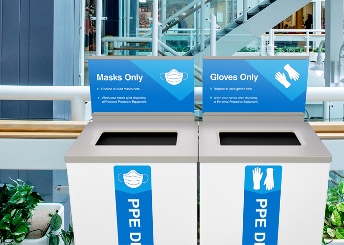 PPE Recycling Bins