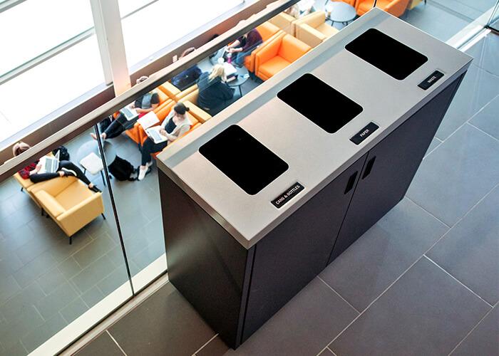 School Recycling Bins