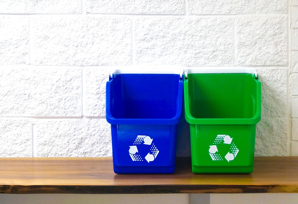 Recycle Bins For Home New Home Recycling Waste Bins Busch Systems USA